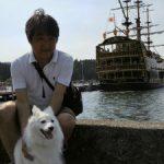芦ノ湖、海賊船と
