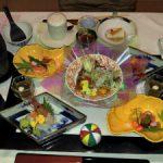 雲外荘夕食1