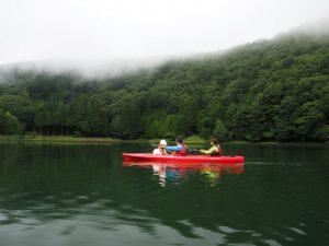 四尾連湖カヤックひといき荘4