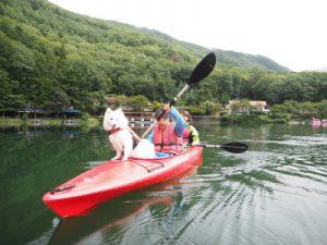 四尾連湖カヤックひといき荘1