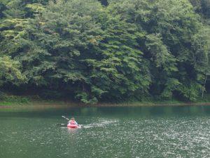 四尾連湖カヤックひといき荘7