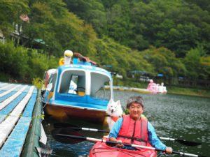 四尾連湖カヤックひといき荘6
