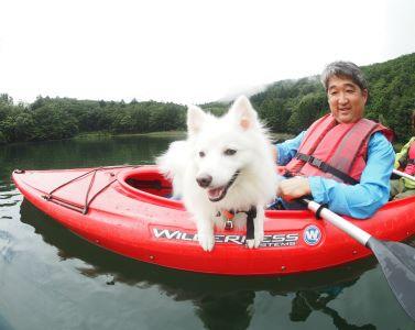四尾連湖カヤックひといき荘